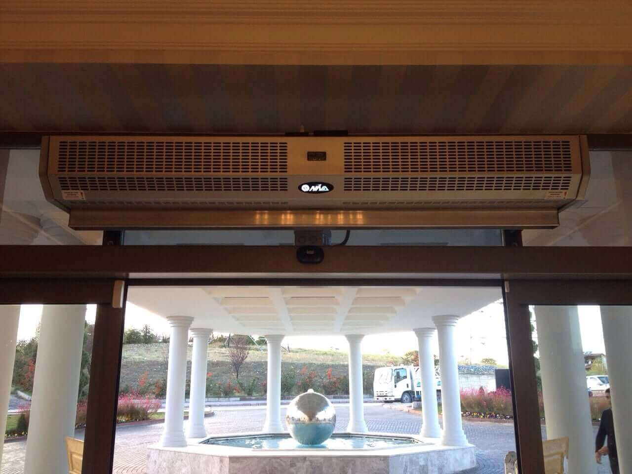 Otomatik kapı Niva montaj